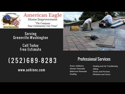 Roofing Contractors Greenville NC | Free Estimate | (252)689-8283| American Eagle Roofing