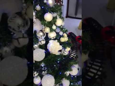 Trenino Sull Albero Di Natale Youtube
