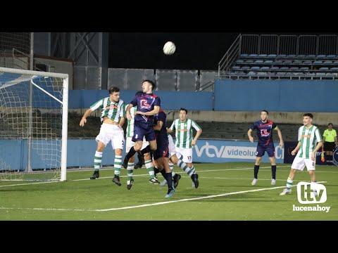 VÍDEO: El Lucecor empata con La Rambla (2-2) en un partido loco marcado por las expulsiones