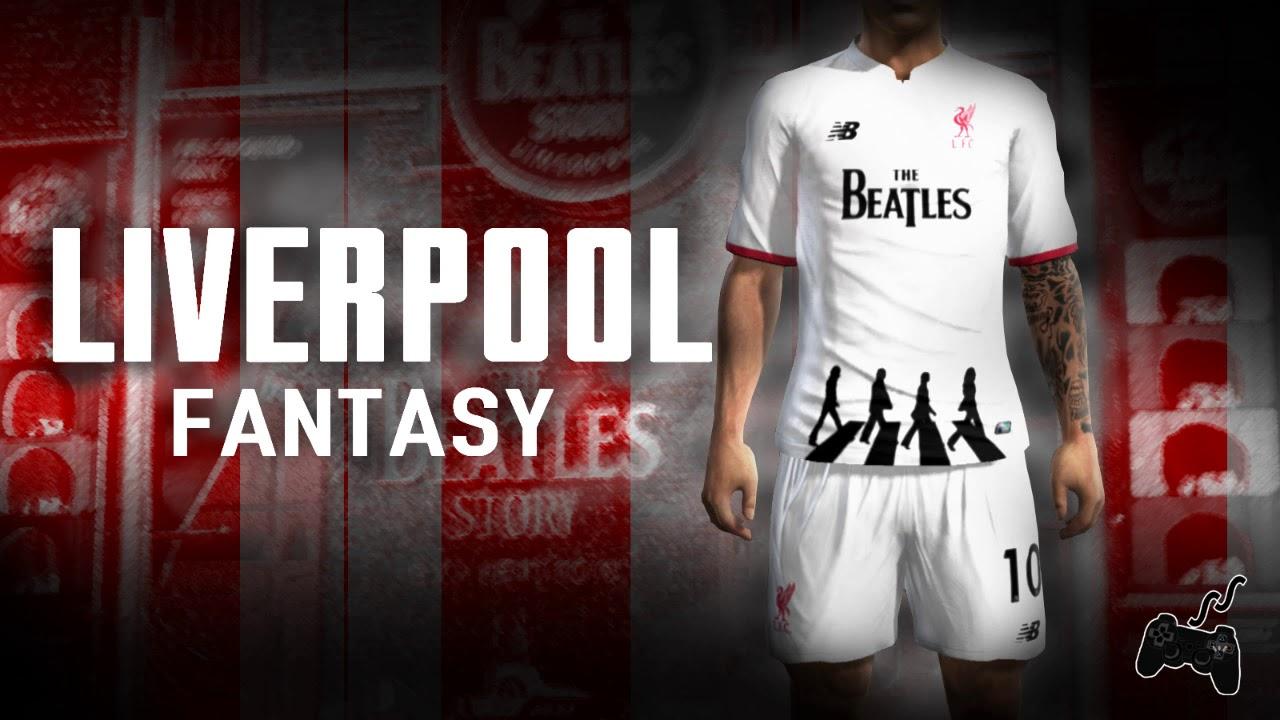 brand new c98b7 9b58f Pes2013 || Kit LIverpool • FANTASY • Liga Master