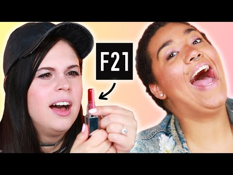 Women Try Forever 21 Makeup