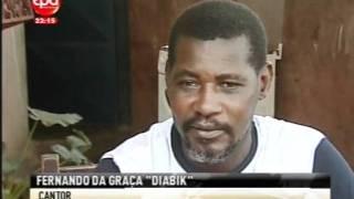 Jornal Nacional - Cantor Diabik