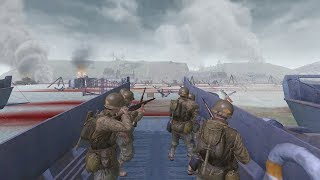 Call of Duty 2 - Normandy Campaign - D-Day Omaha Beach