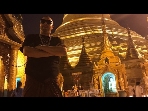 Comedian M2thaK Visits Secret Temple And Shows Respect.