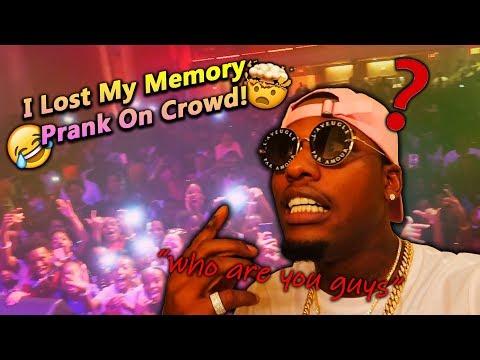 I Lost My Memory Prank On Crowd!