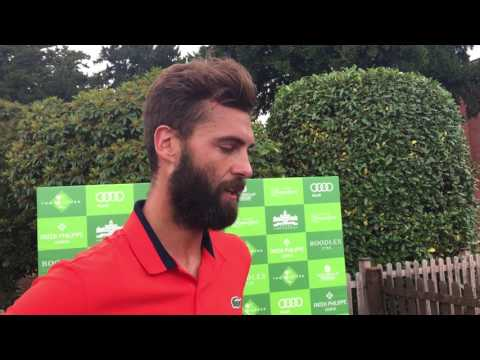 Interview With Benoit Paire - The Boodles 2017