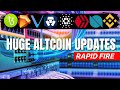 These Altcoins will 10x! Binance Coins MOONING! $1 Cardano! Wall Street Pumping Bitcoin! Crypto News