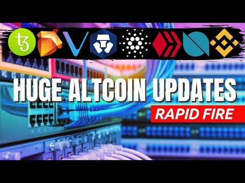 HUUGE CRYPTO NEWS | Bitcoin Halving 2020, Cardano, Tezos, Binance, Crypto.com, Vechain, Telos, Hive