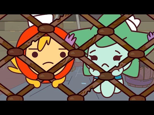 Мультики - Капитан Кракен и его команда - Камень Храбрости - Веселые мультфильмы для детей