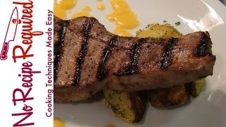 Grilled Pork Chops With Mango Sauce - Noreciperequired.com