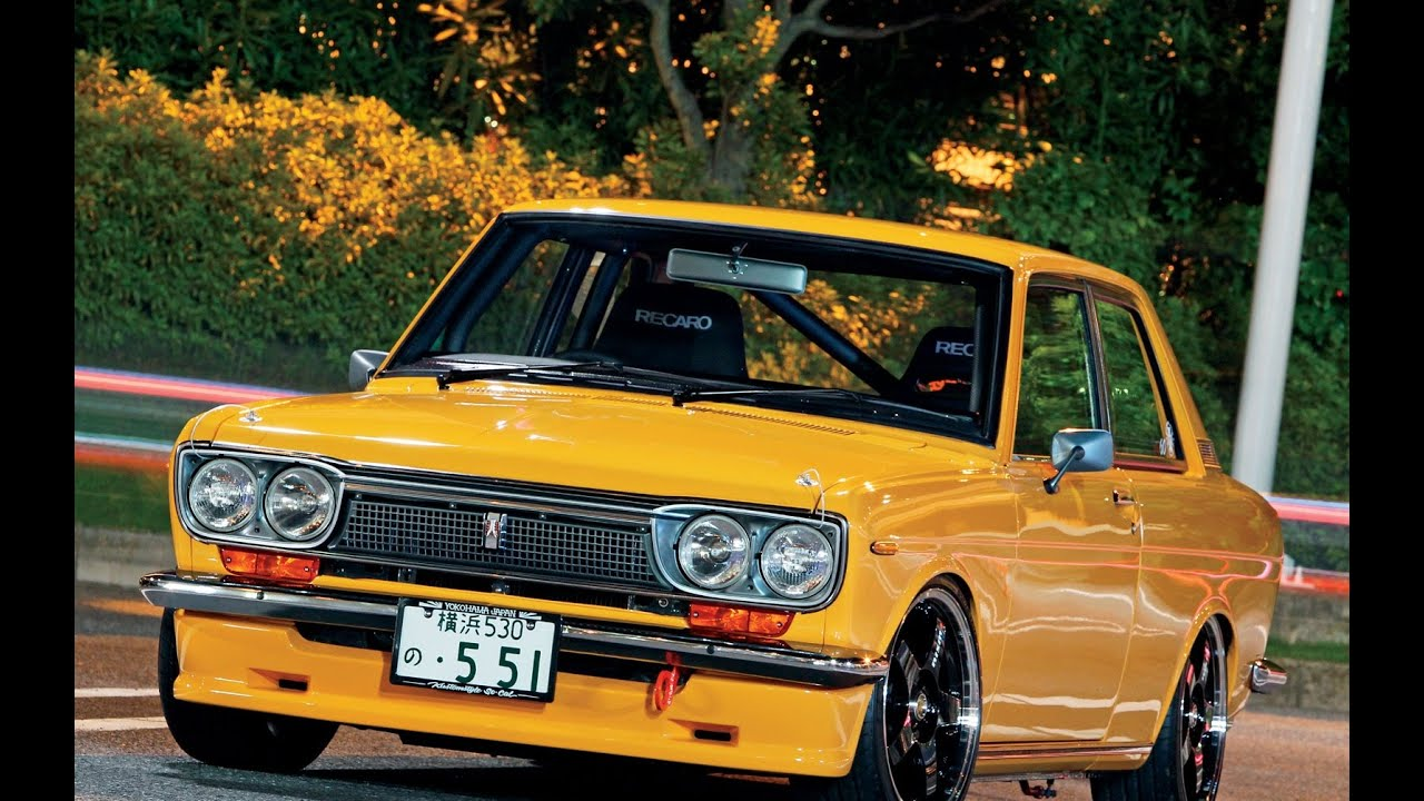 datsun 510 wagon interior eksterior youtube