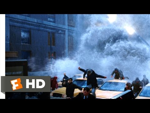 The Day After Tomorrow (2/5) Movie CLIP - Super-Sized Tsunami (2004) HD