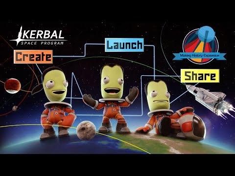 Kerbal Space Program: Making History Expansion - Cinematic Trailer