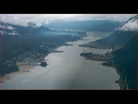 Visiting Gastineau Channel, Channel in Juneau, Alaska, United States
