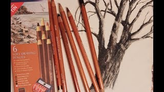 Derwent Soft Drawing Pencils