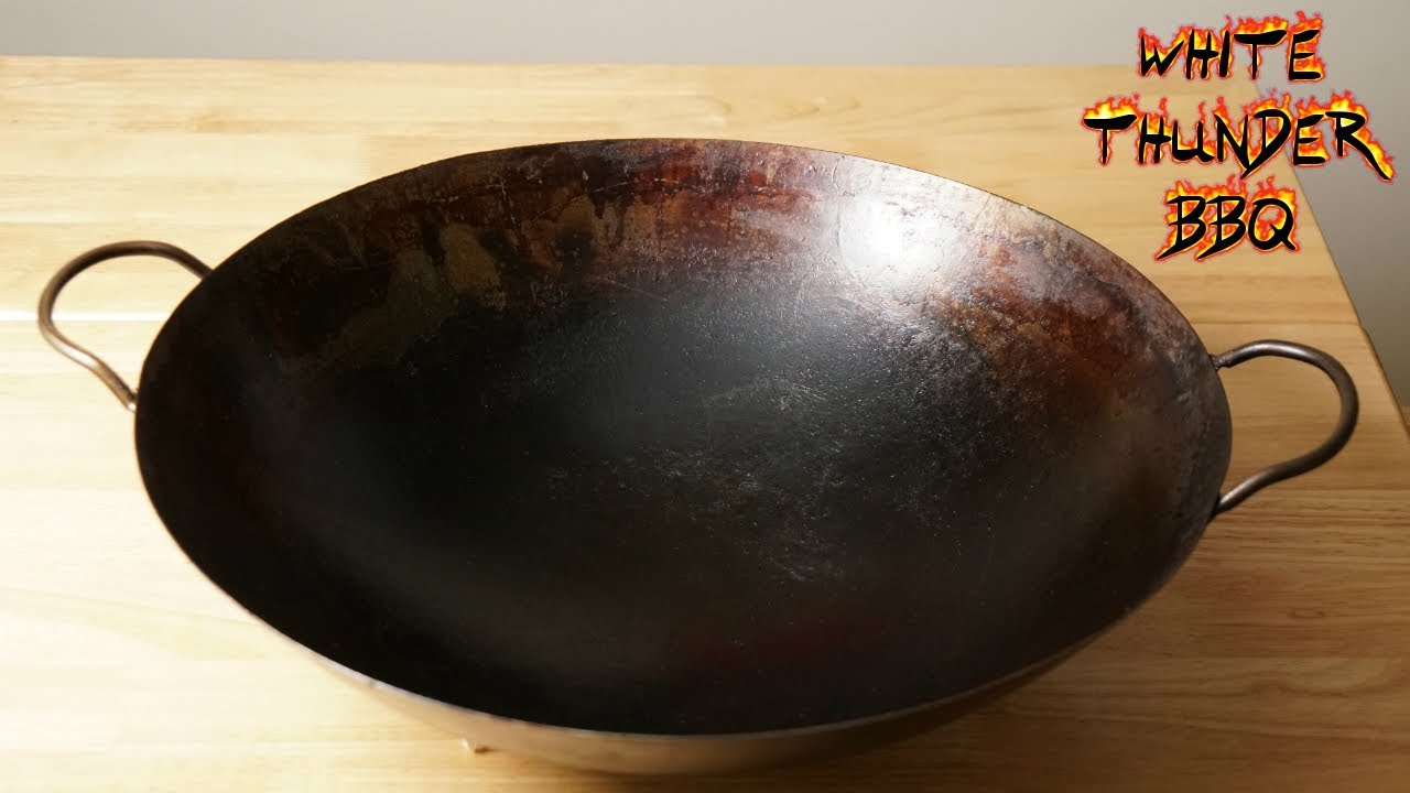 how to tell if wok is carbon steel