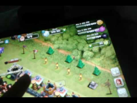 CLASH OF CLANS ATTACK ING IN WAR