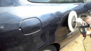 Eliminar arañazos del coche