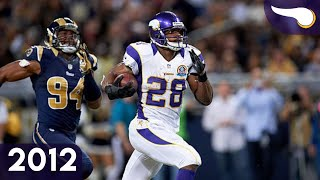 And He's Loose! - Vikings vs. Rams (Week 15, 2012) Classic Highlights