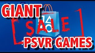 With All The PSVR Games On Sale, What Should You Buy? ( Sale Ends Oct. 17th )