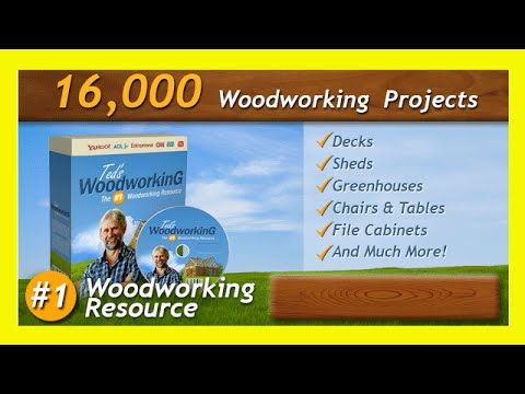 Woodshop Projects - Woodworking Projects - Over 16000 Plans Review