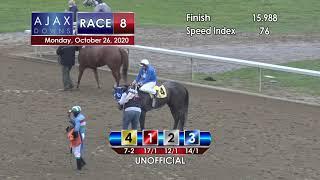 Ajax Downs October 26th, 2020 Race 8