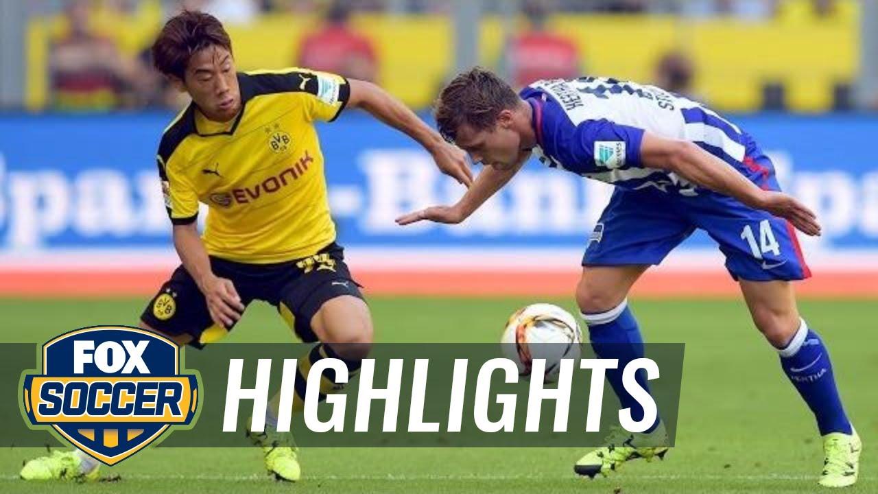 hertha dortmund highlights