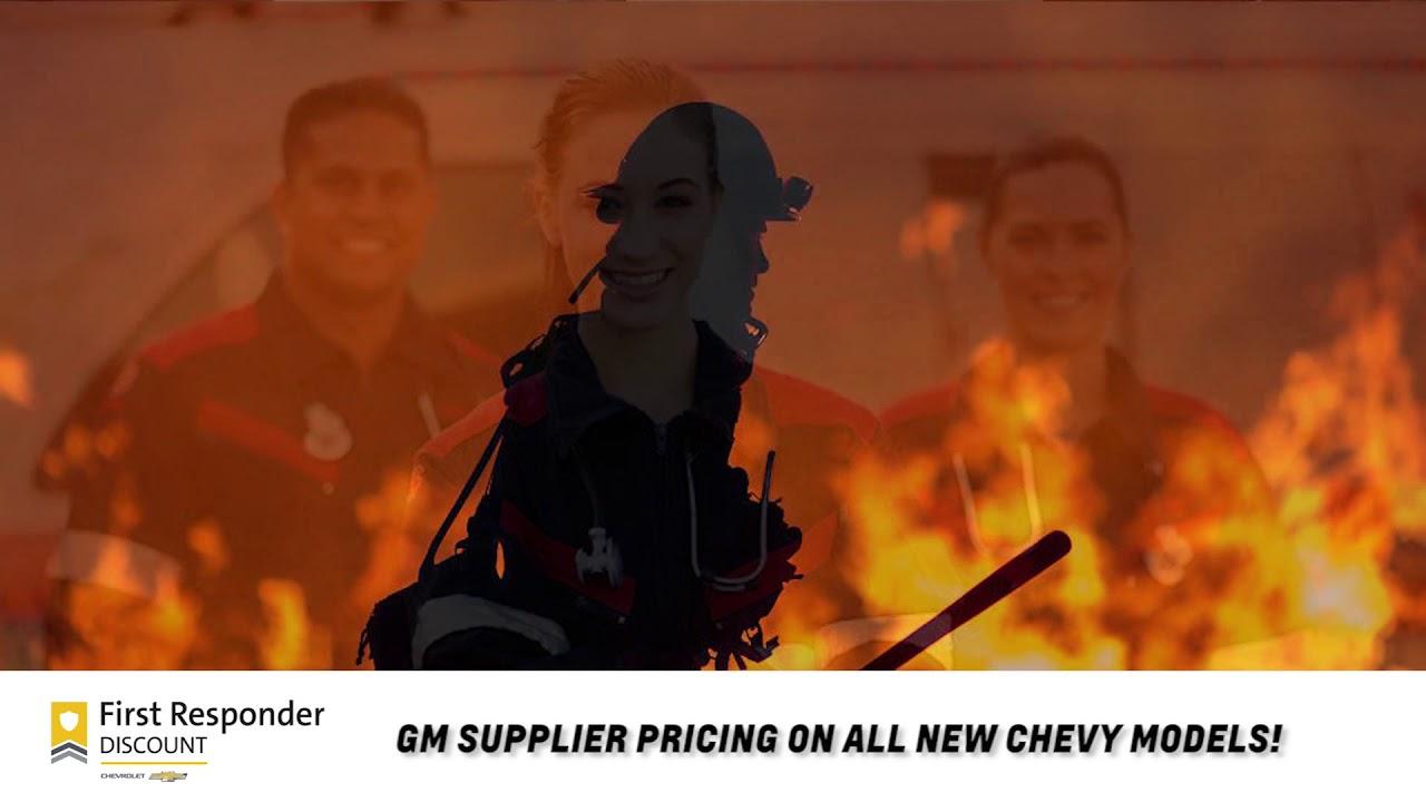 Chevrolet 1st Responders Discount   Karl Chevrolet New ...