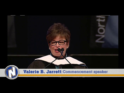 May 2017 Commencement Speaker Valerie Jarrett