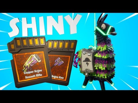 20+ INTO THE STORM Llamas! | Fortnite Save the World Neon Storm Event