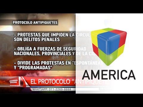 Quedó aprobado el protocolo para control de protestas con cortes y piquetes