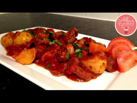How To Make Beef Goulash - Beef Recipe - Гуляш из говядины