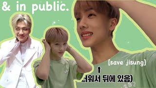 nct embarassing themselves in public