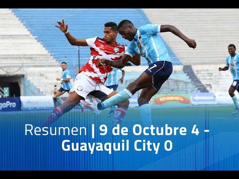 Nueve de Octubre Guayaquil City Goals And Highlights