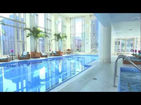 The peninsula spa the peninsula chicago youtube for Chicago resorts and spas