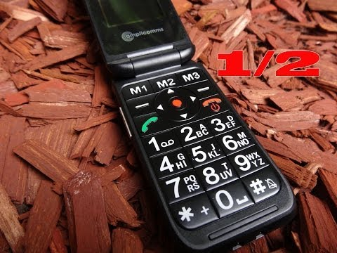 """AMPLICOMMS POWERTEL M6900 SENIORENHANDY"" -Test Teil 1/2"