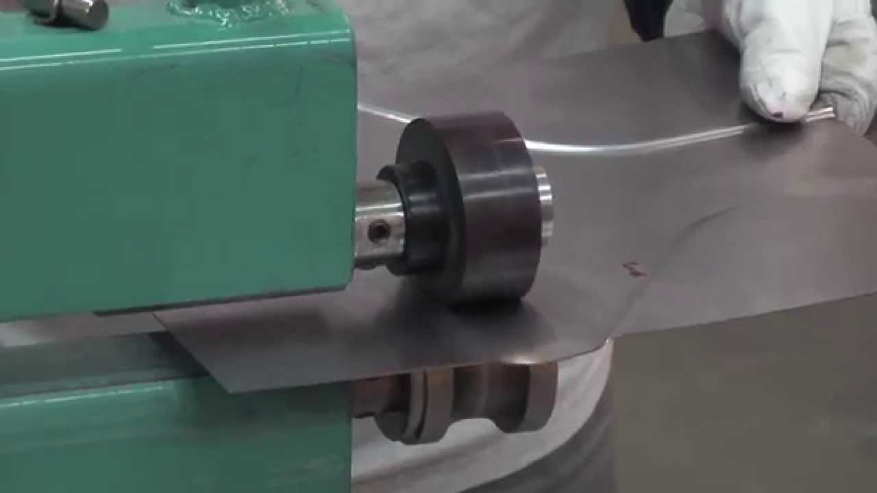 Metal Shaping Bead Roller Die Combinations Pt 3 Youtube