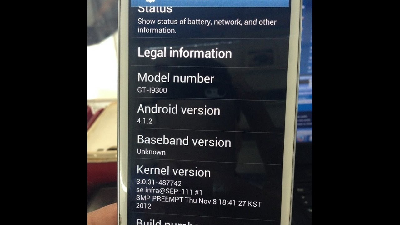Network not registered or No network or null IMEI or unknown baseband  version - S3 i9300 - Solved