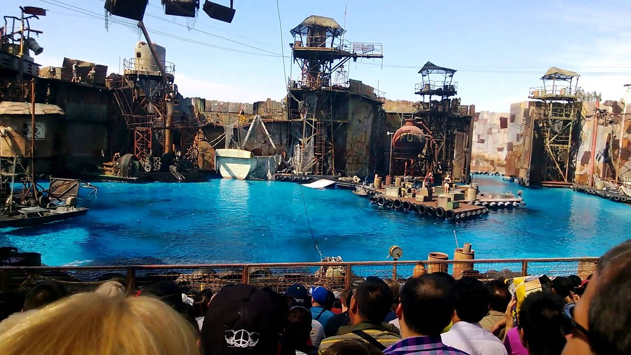 Image result for universal studios waterworld show
