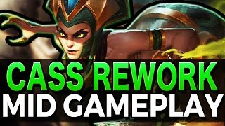 REWORKED CASSIOPEIA TOO STRONG? - Gameplay League of Legends