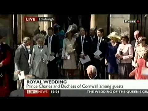 Royal Wedding: Zara Phillips 2/2