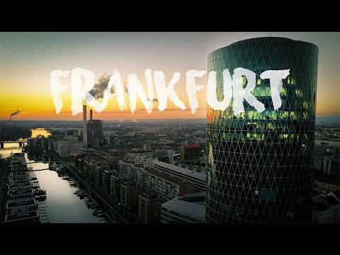 FRANKFURT a.M., Germany | Skyline Aerial Drone 4K Short Clip by thedronebook
