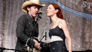 """Six White Horses"" Gillian Welch and David Rawlings at HSB 2011"
