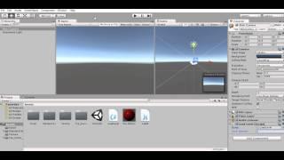 Видео урок по Unity3d : Загрузка уровня по нажатию на кнопку .