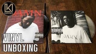 Kendrick Lamar – DAMN. & DAMN. Collector's Edition Vinyl Unboxing   KurVibes