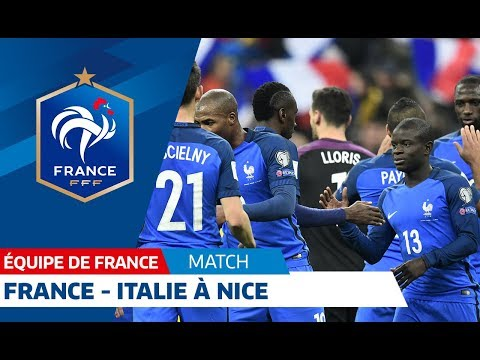 Equipe de France : France-Italie le 1er juin 2018 à Nice I FFF 2018