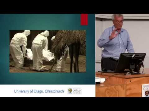 Public lecture on Ebola by University of Otago,Christchurch, Professor Chambers