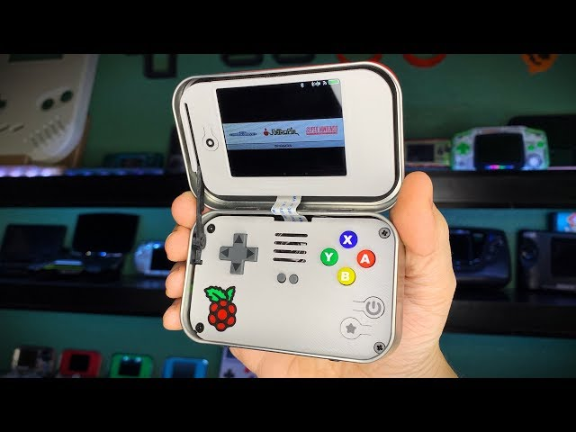 mintyPi v3 - Retro Gaming Handheld in an Altoids Mint Tin!