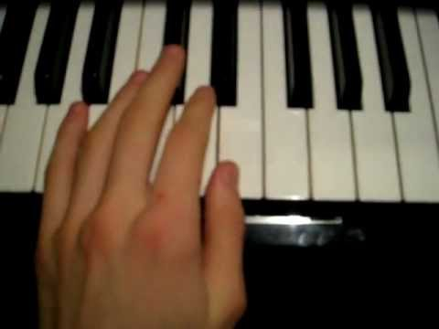 Secrets One Republic  Piano Tutorial