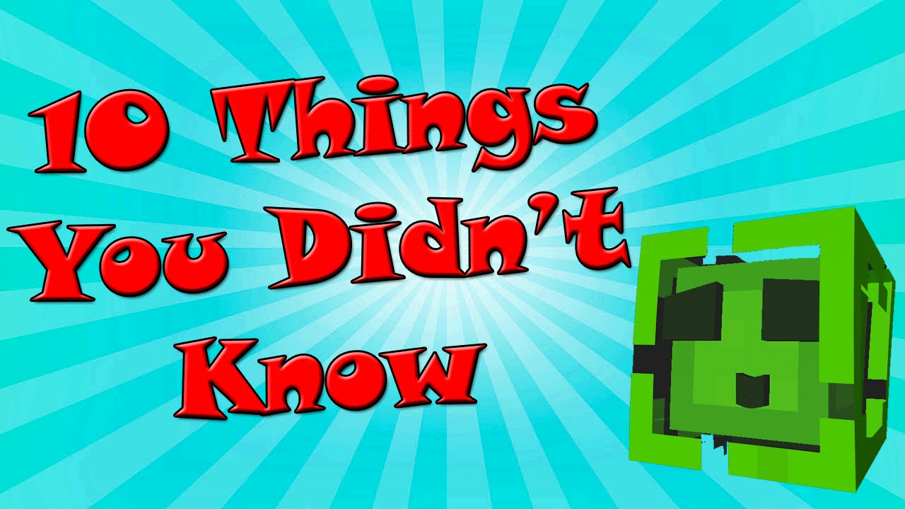 10 things you didn t know about slimes youtube
